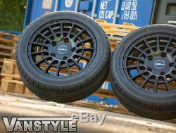 Transit Custom 2018 Calibre T-sport Gloss Black Load Rated 5x160 18 Alloy Set