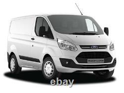 Transit Custom Van 3 Stealth Bars Roof Rack + Load Stops DM86LS