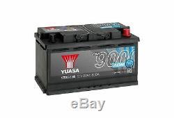 Yuasa AGM Start Stop Plus Battery 80Ah 800CCA YBX9115 3 Year Warranty